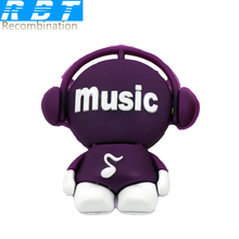 RBT Usb Flash Drive Real High Speed  Musician Music Man 8GB 16GB 32GB Memory Usb Stick 2.0 Pen Drive Pendrive For PC
