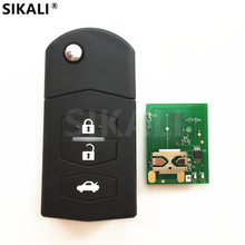 3 Buttons Remote Car Key for 5WK43409D/E/F/W, 5WK43449D/E/F, 5WK49532F HP 433MHz M2 M3 M5 M6 for Mazda(China)