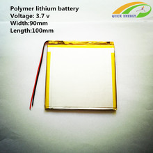 3.7V thium polymer battery / 5090100/0590100 / 4000mAh handheld tablet battery / PAD Battery