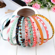 korean boutique fashionable multicolor kids girls tiara headband hair clasp hairband ornaments accessories wholesale ST-10