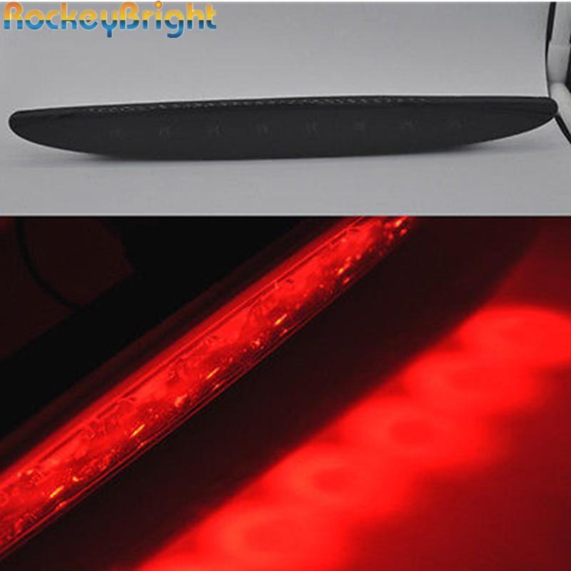 1set third brake light For 2002-2006 MINI Cooper R50 R53 smoke Lens Brilliant Red 8-LED High Mount Third 3rd Brake Light<br>