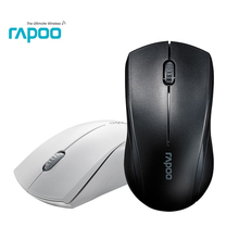 Rapoo 1650 2.4Ghz Wireless Optical Mouse with Silent Click & Ergonomic noiseless mice 1000 DPI for Mac PC Laptop Computer game