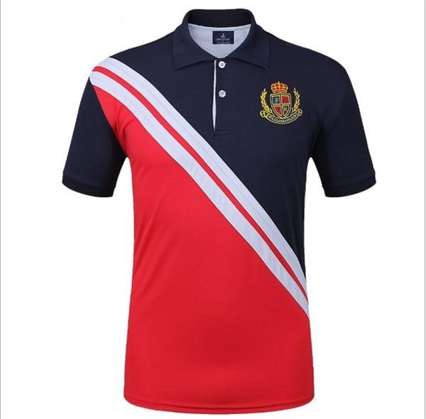 Fannai Mens Golf Shirt Short-sleeve Golf POLO Tshirt Fitness Running Jogging outdoor sportswear Golf Trainning T Shirts 3Colors07