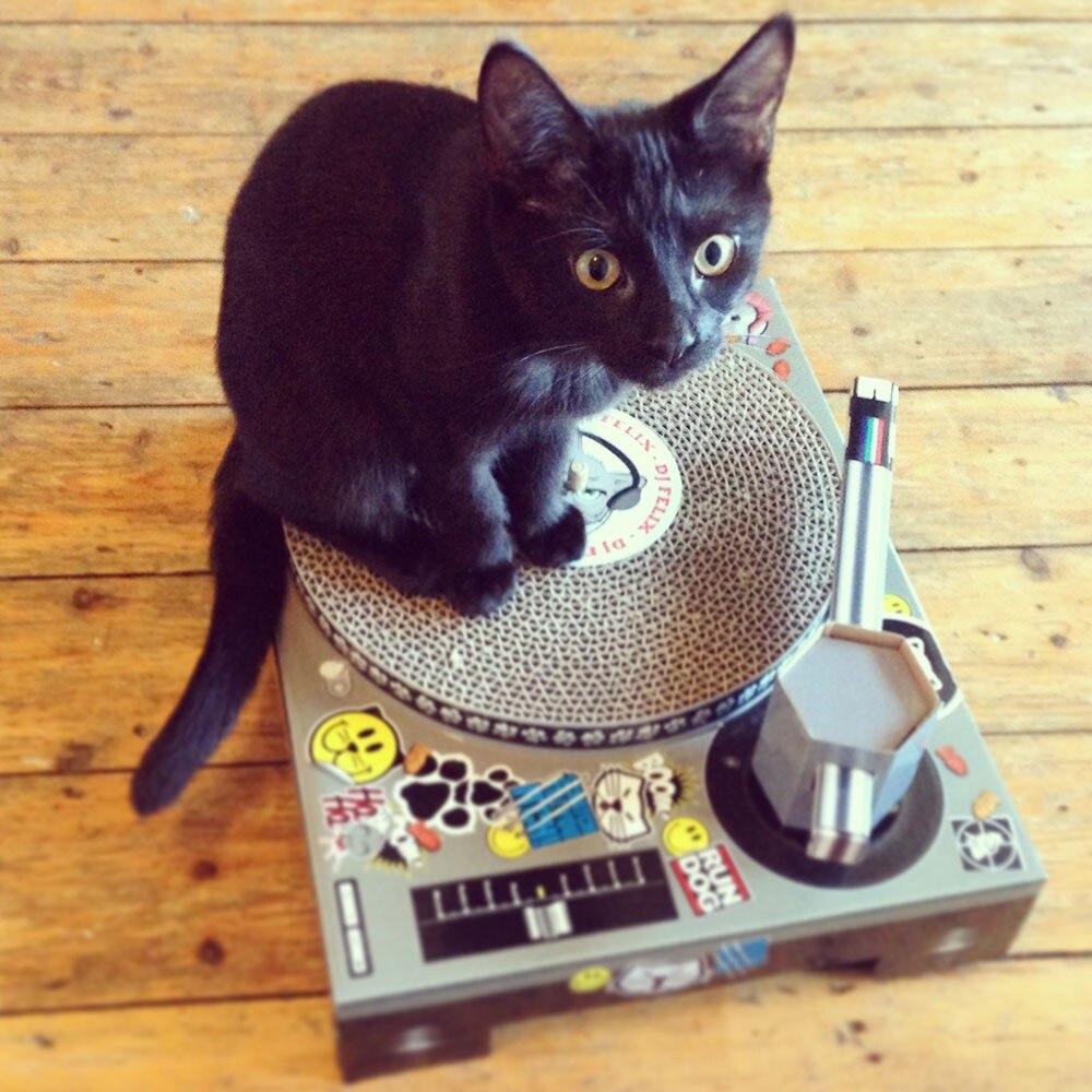 CAT DJ SCRATCHING DECK<br><br>Aliexpress