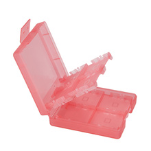 Pink 16-in-1 Game Card Case Holder Storage for Nintendo DS DSI LL/XL High Quality  NI5L