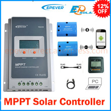 Tracer Solar Charge Controller MPPT 40A 12V 24V LCD Solar Panel Charge Charging Controller Voltage Control USB & temperaturer(China)