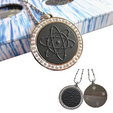 Lava Magnetic Energy Pendant Quantum Ions 4000CC High Quality with Nano Card and Crystal Box Fashion Charm Jewelry White Pendant