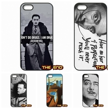 Salvador Dali Famous painter Cell Phone Case Cover For iPhone 4 4S 5 5C SE 6 6S 7 Plus Galaxy J5 A5 A3 S5 S7 S6 Edge