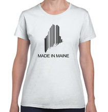 Maine State Made In Maine State Pride T Shirt Gift Ideas Ladies T-Shirt Women Top Tee Hip Hop Casual Cotton 2017 Fashion