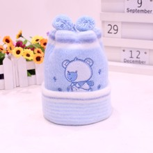 Newborn Hat Kids Winter Hats Baby Cap Super-Soft Cashmere Bonnet Headgear For Boys Girls Hot Sale Infant Beanie Free Shipping(China)