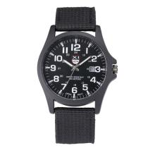 New Outdoor Mens Date Stainless Steel Military Sports Analog Quartz Army Wrist Watch(China)