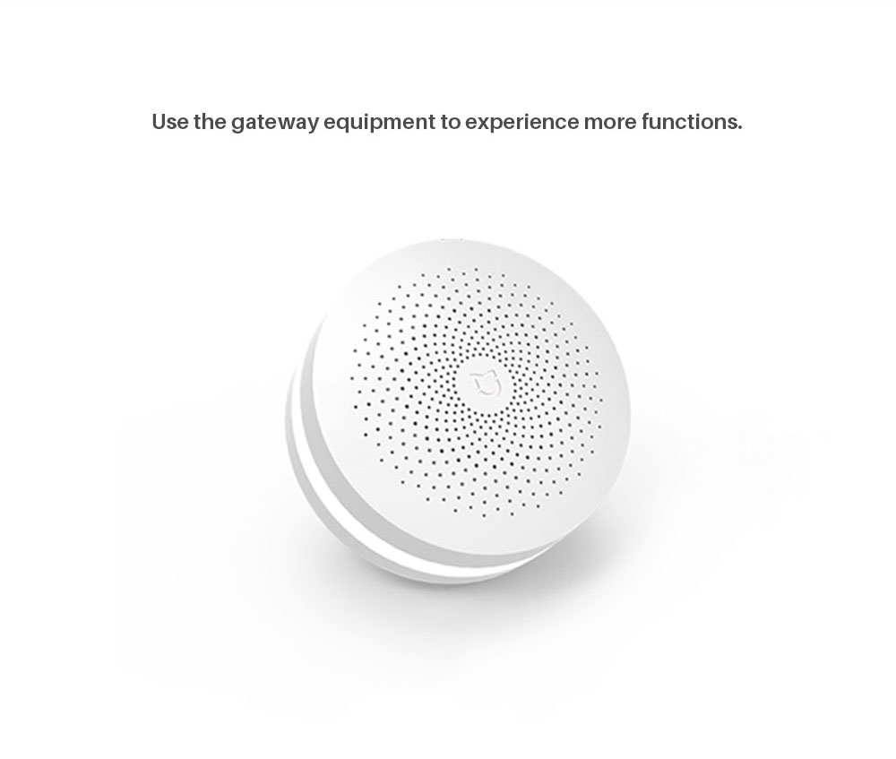 Xiaomi Mijia Honeywell Fire Alarm Detector GasSmoke Sensor work with Multifunction gateway 2 Smart Home security APP control (7)