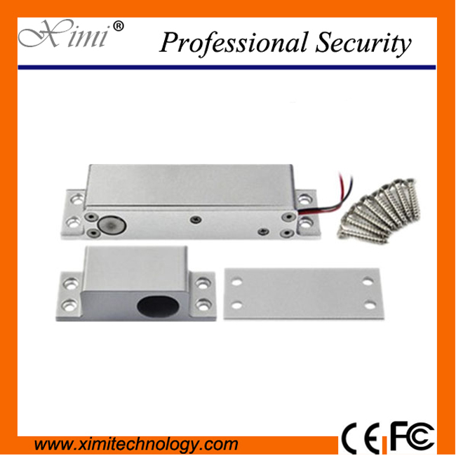 Lower temperature door status output control bolt lock electric access control door lock access control electric bolt lock<br>