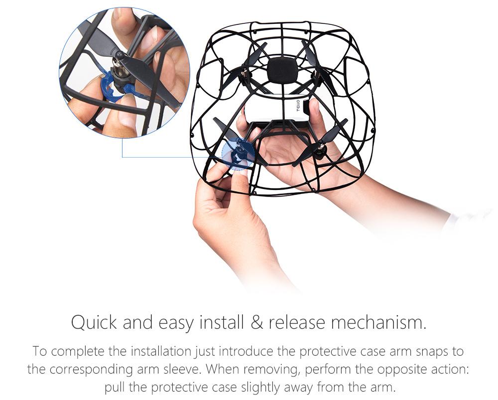 PGYTECH Protective Cage Propeller Guard For DJI TELLO Drone  (7)