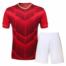 Children Soccer jerseys Football outfit kids 2017 soccer sets Thai quality football customized uniforms kits boys short sleeves