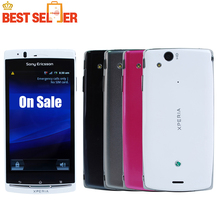 LT18i Original Sony Xperia Arc S LT18 Mobile phone Android 2.3 WIFI A-GPS 4.2 TouchScreen 3G 8MP Free Shipping