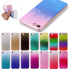 10 pcs/lot Bling Flash Case For Coque iPhone 4 4s 5 5s se 6 6s 6plus 7 7 Plus Phone Cases TPU Silicone Back Covers Capinha Funda(China)