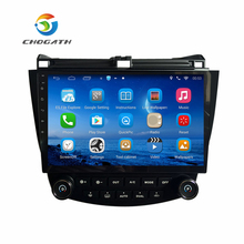 "ChoGath Android 6.1'' Quad core 10.1"" Car radio GPS Navigation for HONDA Accord 7 2003-2007 support steeling wheel control(China)"