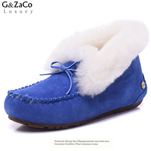 women shoes plus pure wool cashmere lady shoes boots sleeve Home Furnishing wholesale manufacturers(China)