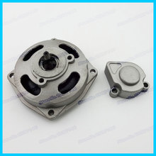 clutch drum gear box 25H 6T with cover cap for  2 stroke 47cc 49cc pocket bike mini quad atv buggy go kart  Clutch Bell Housing