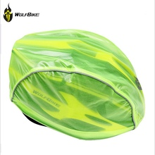 WOLFBIKE Cycling Helmet Rain Cover Waterproof Helmet Cap Bicycle Waterproof Caps Cover