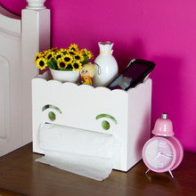 [DX] Creative Desktop storage tissue box napkin pumped storage box multifunction tray
