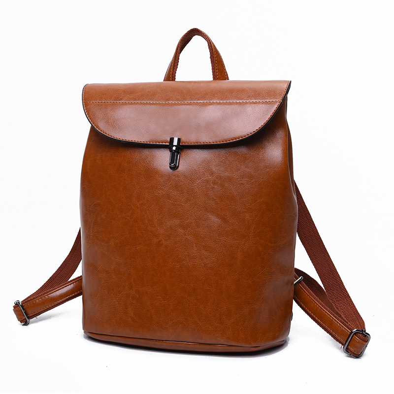 2017 Vintage New Women Backpack High Quality Pu Leather Backpacks For Teenage Girls Female School Bag Shoulder Backpacks Mochila<br><br>Aliexpress