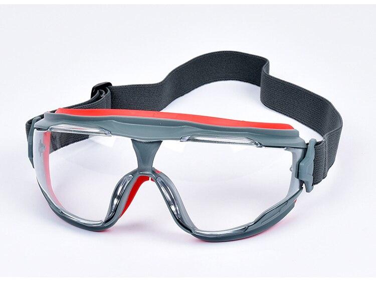 3M GA501 Safety Goggles Windproof Anti-Sand Painted Anti-fog Anti-shock Dustproof Professional Working Eyewear Protective Goggles (8)