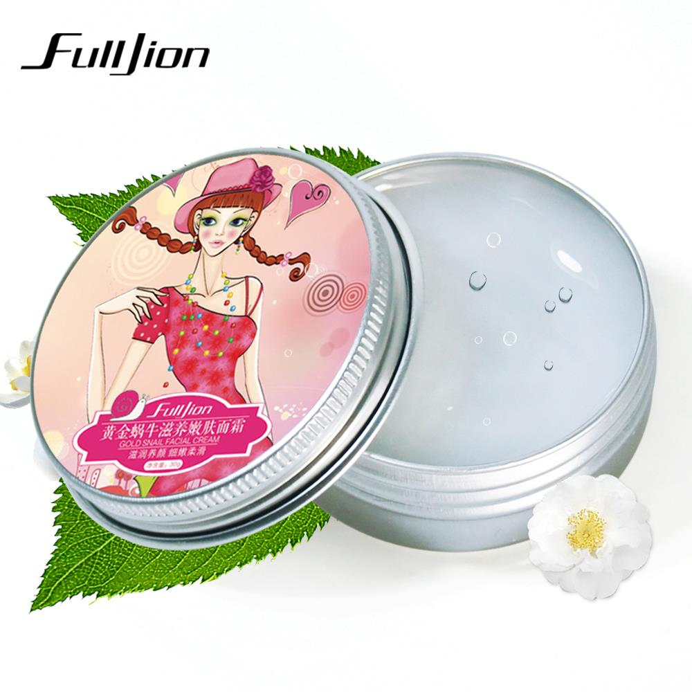 Fulljion Moisturizing Whitening Cream Snail Cream Face Care Anti-wrinkle Nourish Women Face Skin Care Treatment Cosmetics Makeup(China (Mainland))