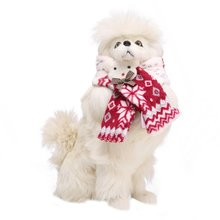 15 styles Christmas Warm Pet Dog Scarves Puppy Bow Tie Dogs Collars Cat Scarf Winter WARM Accessories Products for Pets(China)