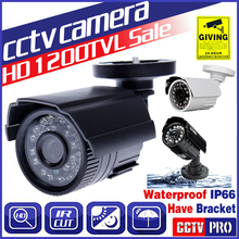8.28biggest Sale!Cmos 1200TVL Hd Mini Cctv Camera Outdoor Waterproof 24Led Night Vision Small Video monitoring security vidicon(China)