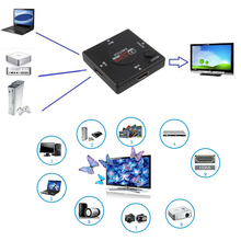 HDMI 3 Input 1 Output Switch Hub Switcher Splitter Box Port For HDTV 1080P Video Promotion