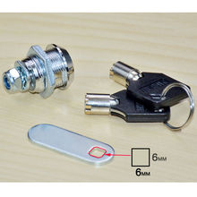 21.5mm Cam Lock For Security Door Cabinet Mailbox Drawer Cupboard Locker With 2 Keys for Home Cabinet Cam Lock(China)