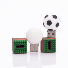 LEIZHAN USB Flash Drive Golf Ball U Stick 64G Pendrive Football Memory U Disk 32G 16G Pen Drive 8G 4G Storage External Device