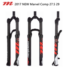 "2017 NEW Manitou Marvel / Machete Comp 27.5""29"" Suspension Bike Bicycle MTB Fork Manual Contorl Alloy Disc Brake Air Oil(China)"