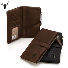 New Arrival Top soft Cowhide Wallet Men Phone Purse Genuine Leather Male Clutch Bag High-Quality Casual Long Zipper Bags Card