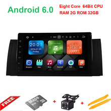 9 inch HD1024*600 Octa Core Android 6.0.1 Car PC Player For BMW/E39/X5/M5/E53 With Radio Stereo build in WIFI BT GPS Navigation(China)