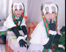 Japanese Amine Hot Game Fate Grand Order Alter Jeanne d Arc Lily Cosplay Costume Beautiful Christmas Dress(China)