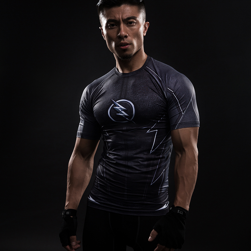 MMA Short Sleeve 3D T Shirt Men T-Shirt Crossfit Tops Punisher Crossfit Funny Superman tshirt Fitness Compression Shirt Tee 4XL 4