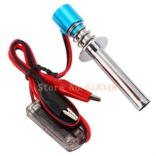 Electric candles Glow Plug Starter Igniter for 1:8 1:10 Nitro Buggy Truck RC Model Car Baja Boat Plane Helicopter 80100 HSP