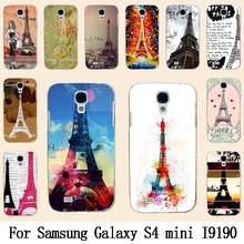 Solf TPU Silicone / Hard Plastic Case For Samsung S4 MINI Mobile Phone Cover Bag Cellphone Housing Shell Skin Mask Color Paint