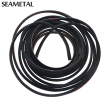 8m 8 Meter Car Door Scratch Strip Protector Edge Guard Rubber Sealing Universal Internal Decoration Auto Accessories Car-Styling
