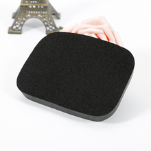 Pro 1PCS Face Washing Puff Soft Natural Black Soft Bamboo Sponge Exfoliator Cleaning Cosmetic Puff Beauty Care Tools
