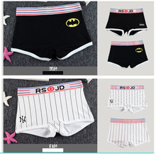 Buy Moka Women Boyshort Batman Superman sexy girls Cartoon Printed combed Cotton Panties Ropa Interior Triangle Female underpants