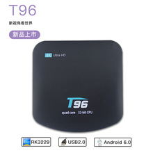 T96 Android TV Box 4K Quad-core Android 5.1 RK3229 1G 8G receiver smart set-top box connected usb hdmi WiFi network Media Player(China)