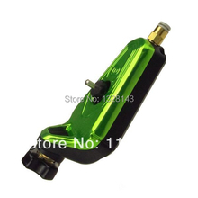 Professional Pro Neuma Style New Rotary Tattoo Machine Gun Shader Liner Pneumatic 1SET Yellowish Green