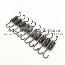 10 pcs/ set heavy duty clutch springs spring for 47cc 49cc pocket bike mini moto quad atv 2 Stroke parts motorcycle motorbike