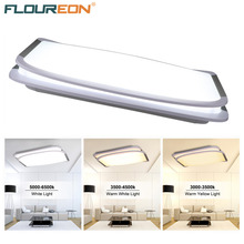 Floureon 36W LED Ceiling Light,2.4G Wireless Remote Control Infinite Dimming,180~265V,3000K~6500K Adjustable for Living Room(China)