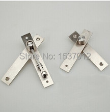 hot sell stainless steel 304 door hinge pivot hinge 130mmx25mm 360 degree install up and down
