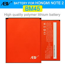 Good Quality ABV bateria BM45 High Capacity 3020mAh Mobile Phone BM45 Battery For Xiaomi Hongmi Redmi Note 2 Note2 Battery